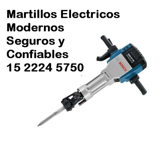 Martillo demoledor neumatico electrico alquiler martillete - Martillo cincelador electrico ...