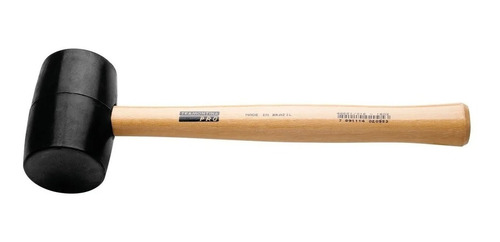 martillo goma 450gr tramontina mango madera