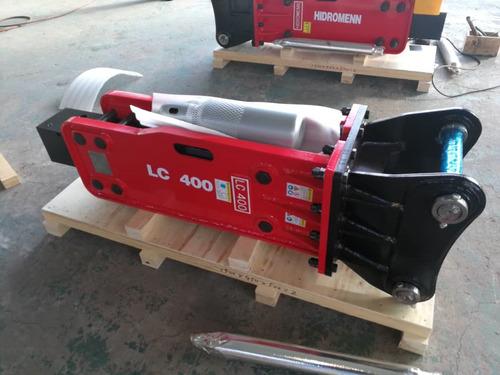martillo hidráulico adaptable para cualquier retroexcavadora