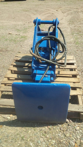martillo hidraulico con placa compactadora retroexcavadora