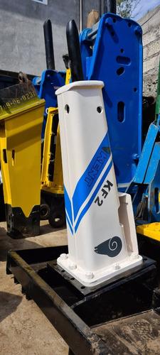 martillo hidraulico kent kf2 para minicargador