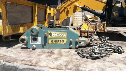 martillo hidraulico kent khb1g para miniexcavadora o minicar