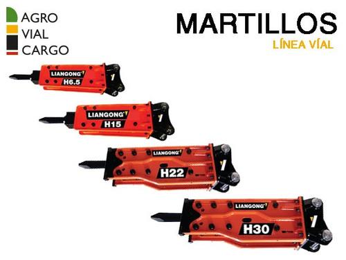 martillo hidraulico liangong 06 a 35 tn valor por anticipo