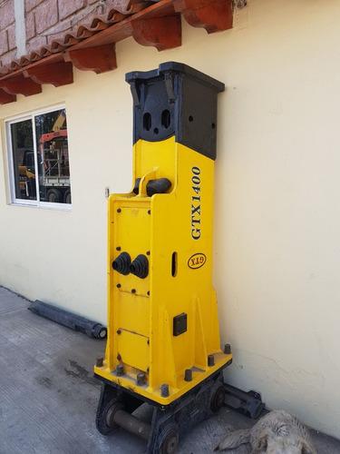 martillo hidraulico marca gtx 1400 nuevo