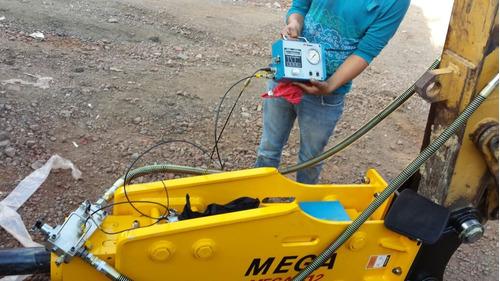 martillo hidraulico marca mega 312 nuevo para excavadoras