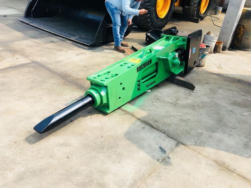 martillo hidraulico marca rockram usado para excavadora