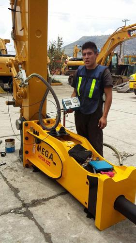 martillo hidraulico mega 325 nuevo