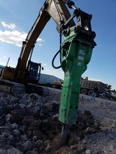 martillo hidraulico montabert v45 para 330cl, 330dl o 336dl