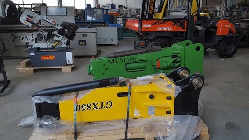 martillo hidraulico para excavadora gtx 850