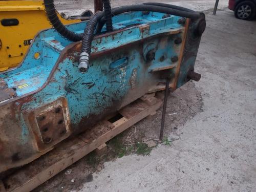 martillo hidraulico para excavadora mas de 22 tons