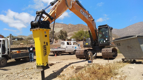 martillo hidráulico para excavadora / nuevo