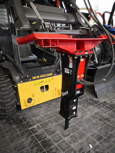 martillo hidráulico para minicargador modelo sm 35sl nuevo