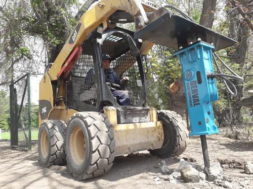 martillo hidraulico para minicargador / nuevo