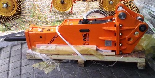 martillo hidráulico para retroexcavadora nuevo marca sm
