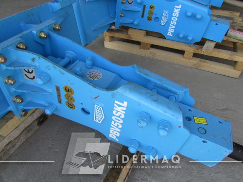 martillo hidráulico poqutec pbv50skl 2018 para mini cargador