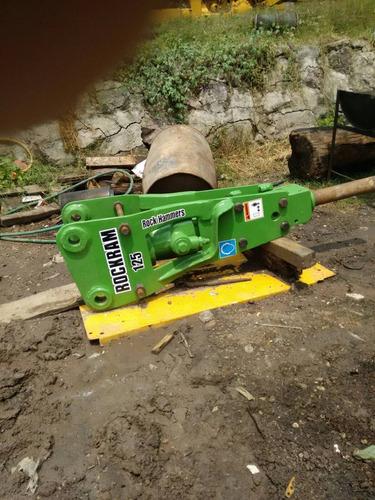 martillo hidraulico rockram 125