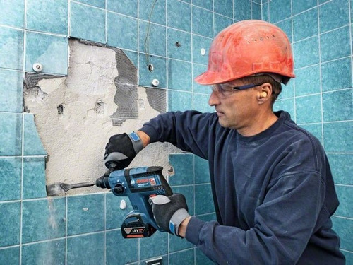 martillo inalambrico marca bosch modelo gbh 18 v-ec