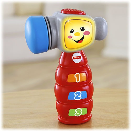 martillo musical de aprendizaje para bebé de fisher price