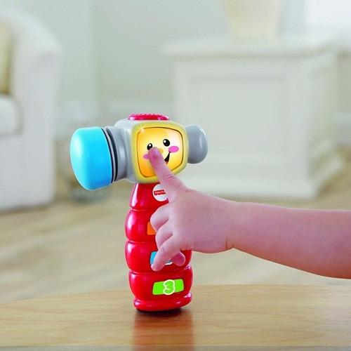 martillo musical de aprendizaje para bebé de fisher price lb