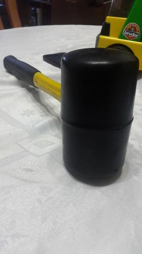 martillo o mazo de goma, 30 oz