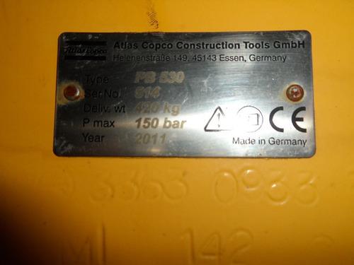 martillo para retroexcavadora pajarita o de oruga 100-150 a