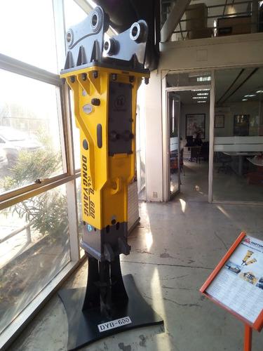 martillo picador demoledor de 800 kg para excavadora