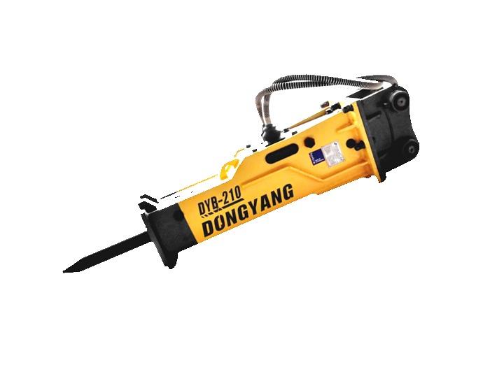 Martillo picador hidraulico 186kg dyb 210s minicargador for Precio ascensor hidraulico 3 paradas