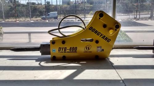martillo picador hidraulico 380kg dyb400 retroexcavadora m4q