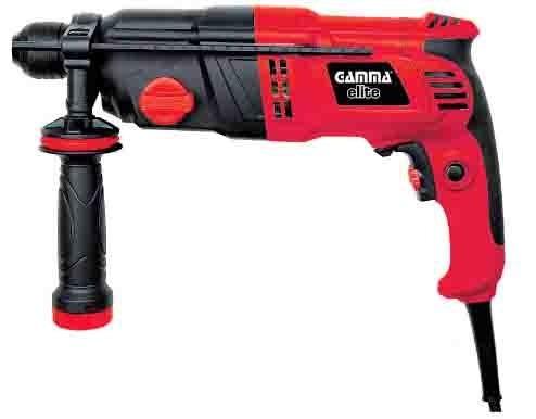 martillo rotativo gamma elite demoledor 900w percutor 2,8j