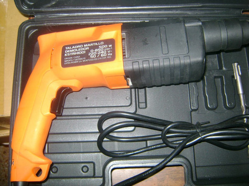 martillo taladro demoledor versa 500 wats 20mm-envio gratis