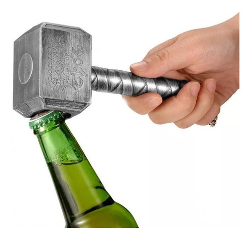 martillo thor mjolnir abre botellas destapador