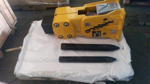 martillos hidráulico para minicargador, retro y excavadoras