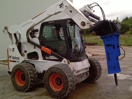 martillos hidraulicos bullbreaker minicargador, excavadora