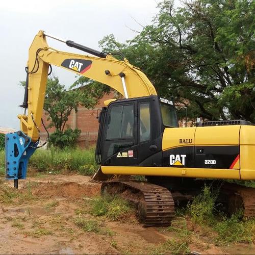 martillos hidráulicos excavadora, retroexcava y minicargador