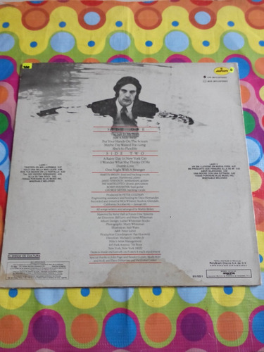 martin briley lp one night with a stranger 1983. u.s.a.