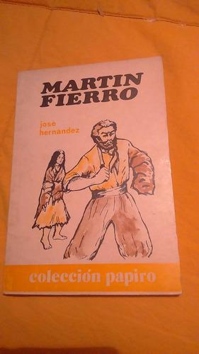 martin fierro - jose hernandez