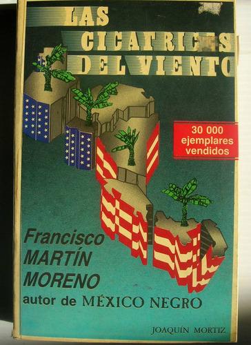 martin moreno las cicatrices del viento libro mexicano 1989