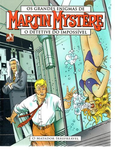 martin mystere 9 2ª serie - mythos 09 - bonellihq cx12 g19