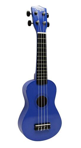 martin smith uk-222-bl ukulele soprano, azul...