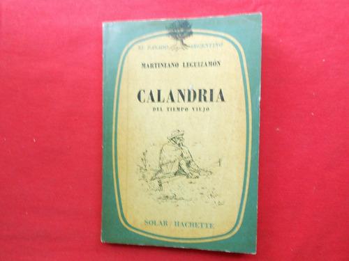 martiniano leguizamon/ calandria
