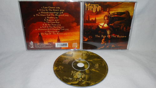 martiria - the age of the return  ( dio vinny appice metal i