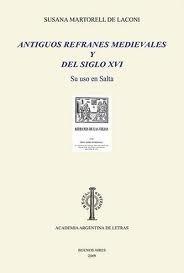 martorell - antiguos refranes medievales y del siglo xvi