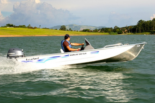 marujo 500 clx com motor 40 hp yamaha 2 t