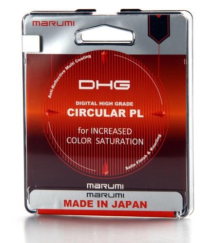 marumi lente 58mm filtro polarizador