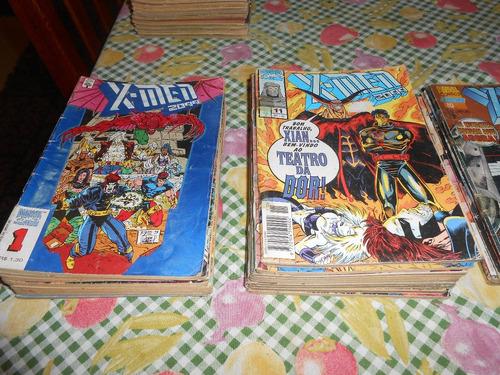 marvel 2099 coleção completa todas as edições. quadrinho hq