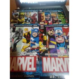 Marvel 80 Años Clarin Numeros ,2,3,5 Cada Uno