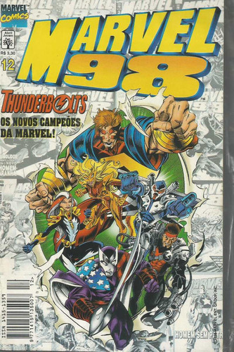 marvel 98 vol 12 - abril - bonellihq cx154 k19