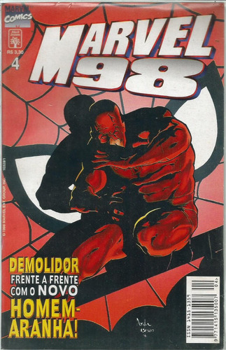 marvel  98 volume 04 - abril 4 - bonellihq cx377 g18