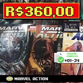 Marvel Action - 34 Edições - Completo