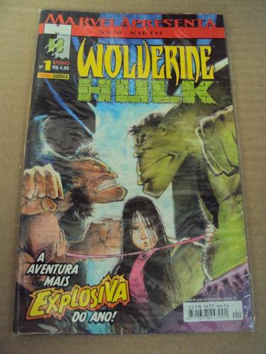 marvel apresenta # 01 - wolverine versus hulk